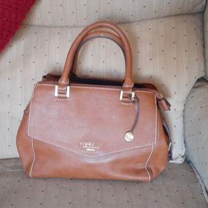 LNC Fiorelli Faux Leather Satchel